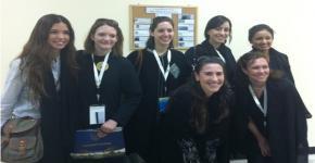 Georgetown University graduate students visit KSU