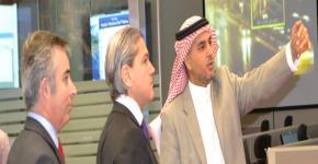 Dr. Aldo Flores-Quiroga visits C4I Center at KSU