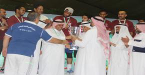 فريق عمادة شؤون هيئة التدريس والموظفين بطلاً لخماسيات كرة القدم للمنسوبين