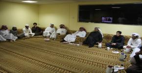 عميد شؤون الطلاب ووكيل العمادة للخدمات الطلابية بديوانية مبنى ( 1 )