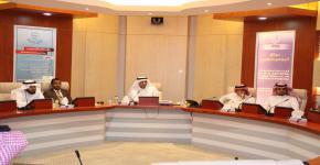 الجامعة تبحث سبل التعاون مع أرامكو السعودية