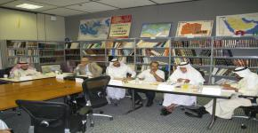 مناقشة رسالة دكتوراه في التاريخ الإسلامي بقسم التاريخ بكلية الآداب