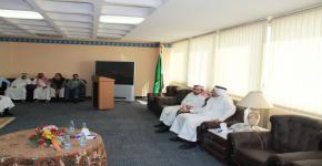 حفل المعايدة السنوي لعيد الأضحى لمنسوبي كلية الأمير سلطان بن عبد العزيز للخدمات الطبية الطارئة