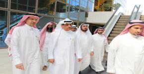 Rector visits Riyadh Community College