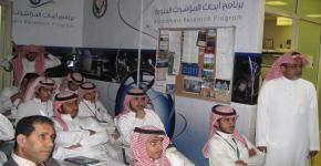 طلاب التحضيرية يزورن برنامج المؤشرات الحيوية وكرسي هشاشة العظام