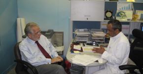 برنامج أبحاث المؤشرات المؤشرات الحيوية بجامعة الملك سعود يستضيف البروفيسور جورج كروسيس