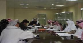 المجلس الاستشاري الطلابي بإسكان الطلاب يعقد جلسته الأولى للفصل الدراسي الثاني