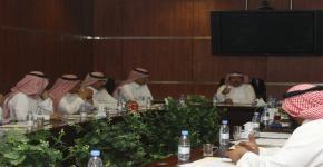 الإجتماع الثاني لمجلس وكالة الجامعة للمشاريع