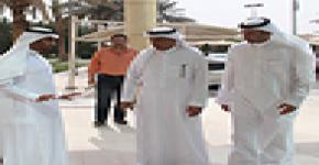 معالي مدير جامعة الملك سعود يقوم بجولة تفقدية لإسكان الطلاب للمرة الثالثة خلال شهرين