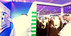 وزير التربية والتعليم يزور جناح جامعة الملك سعود بمعرض الابتكار 2013