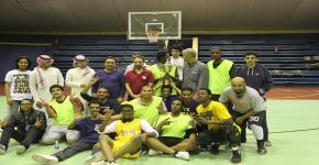كلية المجتمع تفوز ببطولة الجامعة في كرة السلة