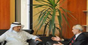 Euro-Arab Institute (INSTEA) delegation meets with Vice Rector Al-Ruwais
