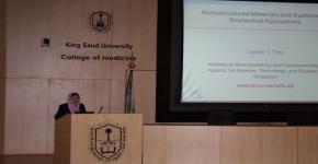 زيارة البروفيسورة جاكي يانج - المدير التنفيذي لمعهد الهندسة الحيوية وتقنية النانو (IBN) في سنغافورة لمعهد الملك عبدالله لتقنية النانو