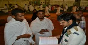 KSU Rover Scouts go all out to help Hajj pilgrims
