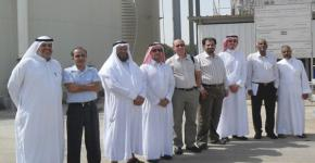 Saudi ARAMCO Chair and Dr. Julian Blanco Explore Joint Solar Desalination Research Projects