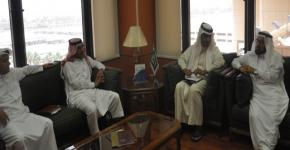 Jubail Industrial College visits KSU Deanship of Quality