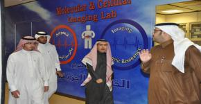 King Khalid University visits King Saud University