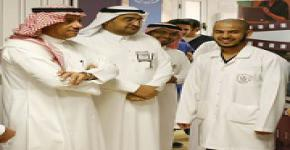 KSU Rector Inspects Medical Colleges
