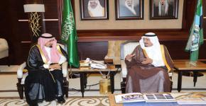 KSU Rector, Contributors Deliver 14th University Towers Progress Report to Prince Salman