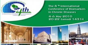 KSU organizes 4th International Conference of Biomarkers in Chronic Diseases