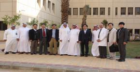 زيارة وفد الباحثين الكوريين المتخصصين بمجال النانو لمعهد الملك عبدالله لتقنية النانو