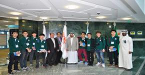 KSU's Deanship of Student Affairs Receives Korean Student Delegation