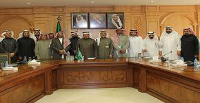Delegation of KSU's leading medical researchers visits Minister of Health