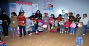 حفل استقبال جمعية إنسان للأيتام في كلية طب الأسنان للطالبات