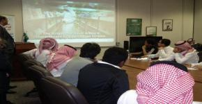 Young students tour national youth studies centre