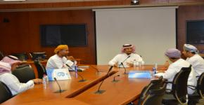 Sultan Qaboos University visits KSU E-learning Deanship