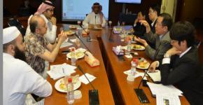 KSU and Samsung meet on E-learning Experience