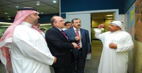 Syrian delegation arrives in Riyadh for a week of scientific research and development