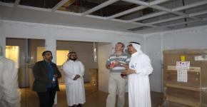 زيارة البروفيسور أولف كلينيبيرغ من جامعة لودوينج- ماكيميليانس بألمانيا لمعهد الملك عبدالله لتقنية النانو