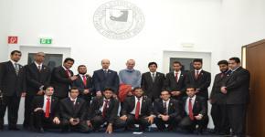Outstanding KSU students, Club Leaders Visit One of Germany's Top Universities