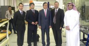 KSU's Dr. Al-Salman welcomes visitors from Japan's Waseda University