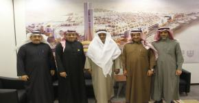 Sheikh Mohammed Al Amoudi visits KSU Endowments