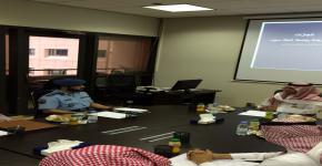 مدير مركز الترجمة يلتقي مدير مركز الدراسات الاستراتيجية بالقوات المسلحة