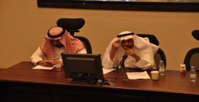 CCIS Students Meet with Dean Hassan Mathkour