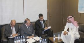 KSU Receives Top Arab Administration Delegation