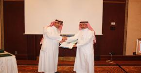 الدكتور الحركان: عمادة الدراسات العليا تكرم أعضاء لجان الملتقى العلمي السنوي الأول لطلاب وطالبات الدراسات العليا