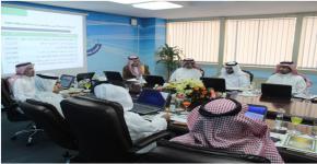 كلية المجتمع في جامعة الملك سعود تعقد أولى جلسات مجلسها الاستشاري لهذا العام : برئاسة صاحب السمو الأمير / مشعل بن خالد بن فهد آل سعود
