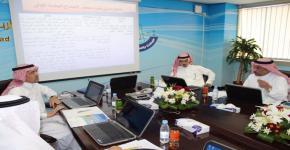برئاسة سمو الأمير مشعل بن خالد بن فهد آل سعود كلية المجتمع بجامعة الملك سعود تعقد جلسة مجلسها الاستشاري