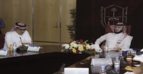 الاجتماع الأول للمجلس الاستشاري الطلابي