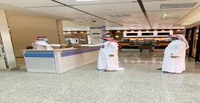 كلية التمريض تستقبل منسوبيها بعد إجازة عيد الفطر المبارك