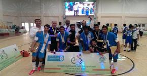 حقق فريق السنة التحضيرية بطولة الإتحاد الرياضي لكرة القدم للصالات