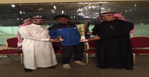 الحفل الختامي لبطولة كرة القدم على كأس سعادة عميد كلية الدراسات التطبيقية وخدمة المجتمع