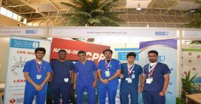 الخدمات الطبية الطارئة في معرض مستقبلي بالسنة التحضيرية