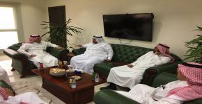 وفد من كلية المجتمع بخميس مشيط يزور كلية المجتمع بجامعة الملك سعود