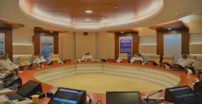معالي رئيس الجامعة يرأس الاجتماع الثاني للأمانة العامة لأوقاف الجامعة للعام2020م