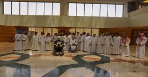مركز ذوي الاحتياجات الخاصة بالمكتبة المركزية